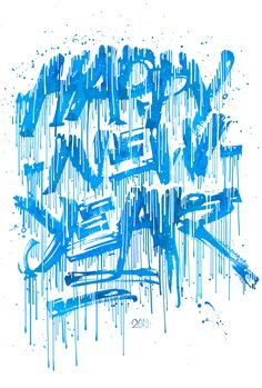 Happy new year. Colapen edition by Pokras Lampas, via Behance