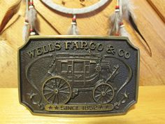 Original Vintage Wells Fargo Officially by VintageEarlyBirds