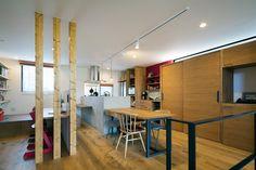 自然を感じられる家・間取り(大阪府箕面市)   注文住宅なら建築設計事務所 フリーダムアーキテクツデザイン