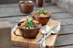 Chèvre culinaire: [Rezept] Seelenfutter für kalte Tage - Linseneintopf