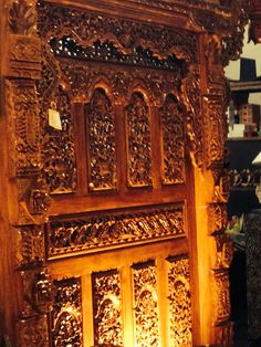 Indonesian Carving