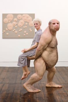 The Carrier, 2012   Patricia Piccinini  www.patriciapiccinini.net  via haunchofvenison.com    for #composition