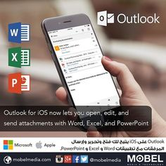 #Outlook for #iOS now lets you open edit and send attachments with Word Excel & PowerPoint