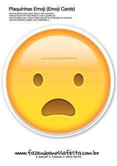 Plaquinhas Emoji Whatsapp 55