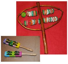coloring sheet, DIY directions, and giveaway for sisterm -- African instrument -- only available Feb 2012.