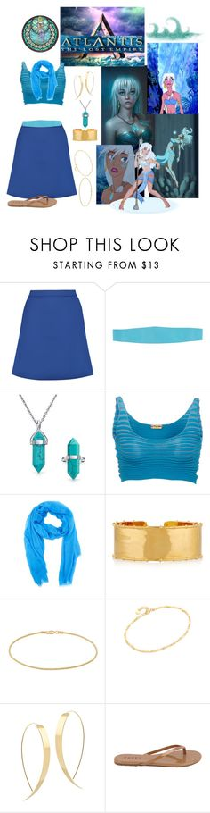"""""""Kida"""" by allyssister ❤ liked on Polyvore featuring Disney, Être Cécile, KI6? Who Are You?, Atlantis, Bling Jewelry, Pepa Pombo, M Missoni, Arme De L'Amour, Barefootsies and Cloverpost"""
