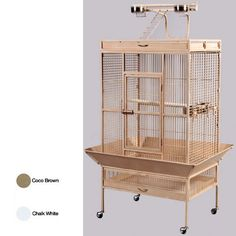 Prevue Hendryx Select Wrought Iron Parrot Cage from Great Companions