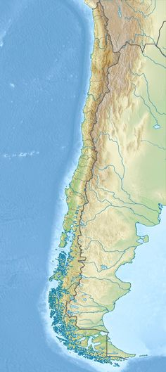 Location map of Chile