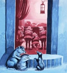 Snow White and the Seven Dwarfs Wall Art & Canvas Prints by Ron Embleton