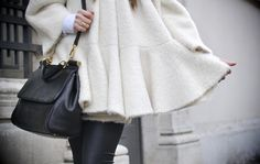 coat and bag...