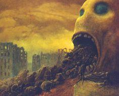Meu mundo e assim: Arte macabra: Zdzisław Beksinski
