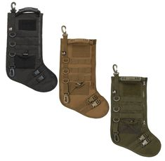I found this web site, LA Police Gear Molle Elite Tactical Christmas Stocking $15. I just received mine and the quality is excellent! Very well built for $15