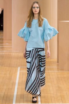 Top model: the models who found fashion fame from reality TV shows: Ivana Teklic Since her debut on Germany's Next Top Model's seventh season (where she finished up third), Teklic has been busy booking jobs with Christian Dior, Roksanda and Ralph & Russo. Image: Roksanda ready-to-wear spring/summer '16