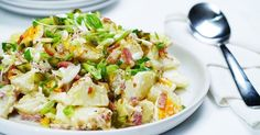 Put potatoes to good use with this classic potato salad -- a perfect accompaniment to any main meal.