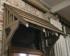 Wood Windows: Wood Window Awning Brackets