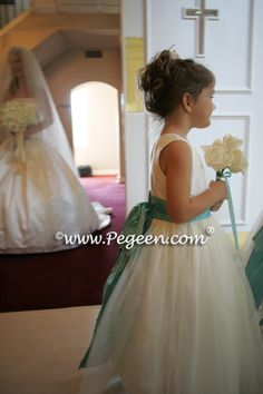 style 394 in ivory & tiffany for her flower girl dresses (she added a couple of layers of tulle), ivory knicker & tiffany vest for her ring bearer (style and her Junior Bridesmaids Dress in Tiffany Blue with Ivory bustle (style Wedding Of The Year, Blue Wedding, Summer Wedding, Wedding Colors, Dream Wedding, Wedding Ring, Bridesmaid Luncheon, Junior Bridesmaid Dresses, Wedding Dresses