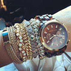 Michael Kors watches.