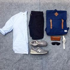 or: #WDYWTgrid by @josh_hipos #mensfashion #outfit #ootd : #HM : #Uniqlo…