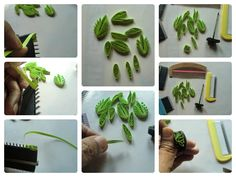 Anastasia (Annie) Wahalatantiri: Quilling with Comb - More ideas