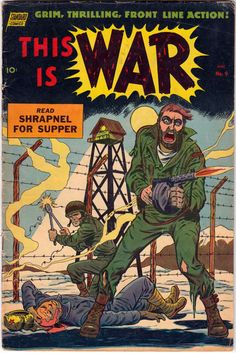 Comic Book Cover For This Is War #9