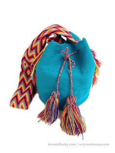 Authentic Wayuu Bags Wayuu Mochilas Bags handmade by loveandlucky, $89.00