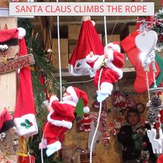 The funny Santa climbs to the top of the rope or the top, like Santa Claus in a fairy tale, trying every method to climb the chimney to give a gift to the child and then automatically. Everything is automatic and gives the child a magical experience. Christmas Gift For You, Christmas Crafts For Kids, Crafts For Teens, Christmas Time, Fun Crafts, Christmas Decorations, Christmas Ornaments, Holiday, Diy Gifts For Friends