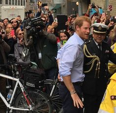 Prince Harry at the launch of the 2017 Invictus Games which will be held in Toronto