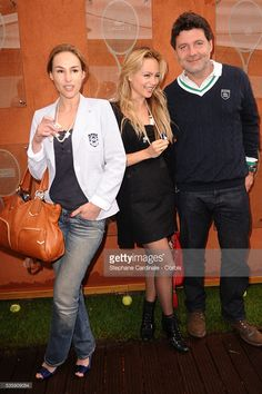 Photo d'actualité : Vanessa Demouy, Beatrice Rosen and Philippe...