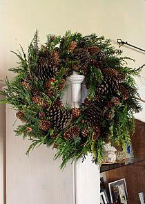 Picasa Web Albums - Mirka Bień - dekoracje do . Christmas Love, Christmas Wreaths, Merry Christmas, Xmas, Pine Cone Decorations, Outdoor Christmas Decorations, Holiday Decor, Flower Tutorial, Holidays And Events