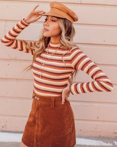 Time for sweater weather 🌿 shop fall new arrivals on lucaandgrae 70s Fashion, Fashion Outfits, Fashion Trends, Petite Fashion, Curvy Fashion, Fashion Bloggers, Style Fashion, Fall Outfits, Cute Outfits