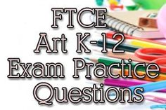 143 best ftce practice exam study guides images on pinterest exam ftce art k 12 exam practice questions fandeluxe Choice Image