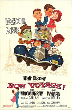 Bon Voyage!, Okay Parigi (James Neilson) - 1962 USA -  Michael Callan