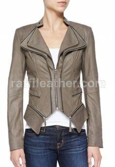 Jaket Kulit Wanita RFW 128