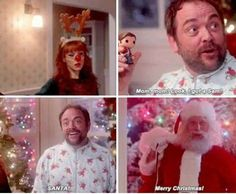 Supernatural....Santa!