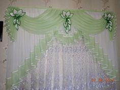 Home Curtains, Kitchen Curtains, Window Curtains, Window Curtain Designs, Curtain Styles, Living Room Partition Design, Room Partition Designs, Elegant Curtains, Beautiful Curtains