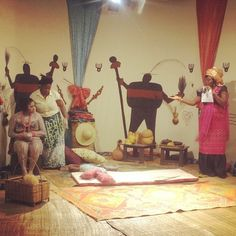 #EbonyLife #FirstAnniversary #StudioLive #Experience #FatteningRoom #CrossRiver #Culture #Pride #Nigeria #Africa The Fattening room is an important part of the life of a young maiden from Cross Rivers state before marriage. Her skin is cleaned with #BentoniteClay, #CamWood amongst others. Her body is massaged and oiled to perfection. She is taught to #Clean, #Cook and tricks of the #Bed. In a nutshell she is taught to please her man and keep her home