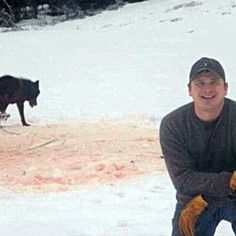 He thought it was funny. He did nothing when hunters began target practicing at the already suffering wolf trapped barbarically in foot trap & slowly dying, no he was too busy posing in front of the camera smiling. He is working for the US Forest Service. Is this what America is? Are we as people living in America going to stand for this? Please sign the petition and make it viral. He needs to be dismissed from his job. Click photo http://www.release-the-pain.com/