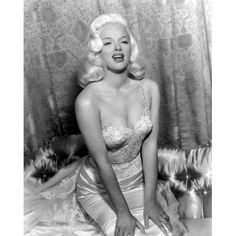 Diana Dors Canvas Art - (16 x 20)