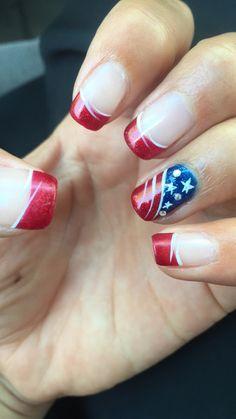 4 of July nails!