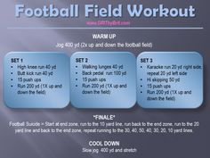 Football Field Workout