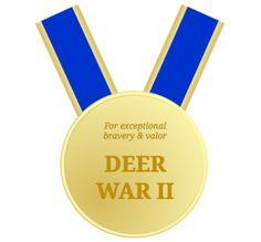 Dad's trick to keep deer out of your yard and garden. #deer #diy #gardening #tyrantfarms