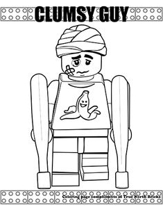178 Best FREE LEGO Coloring Pages images in 2019 | Lego ...
