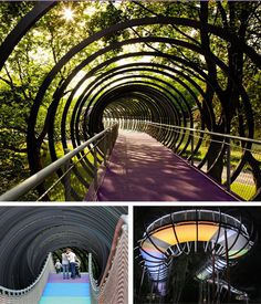 Slinky Bridge in Oberhausen, Germany