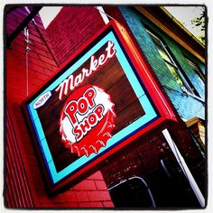 The Pop Shop at 237 North Market Street, Frederick, MD. A huge selection of craft sodas and delicious gelato and shakes!
