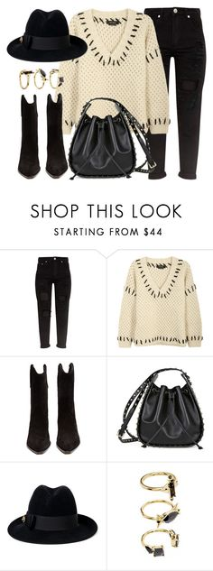 """Stand By Me"" by monmondefou ❤ liked on Polyvore featuring Isabel Marant, Valentino, Gucci and Noir Jewelry"