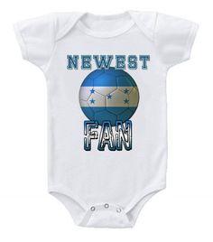 NEW Cute Soccer Baby Bodysuits Onesie Honduras Team Football One Piece. Soccer  OutfitsSoccer ClothesArgentina ... 281c8cb29