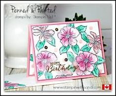 Image result for stampin up penned and painted