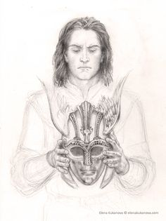 Illustration for The Children of Hurin by Tolkien by ~ekukanova at deviantart