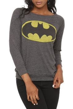 DC Comics Batman Pullover Top Plus Size: Clothing