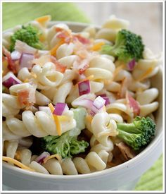 Pasta Broccoli Salad